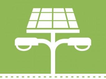 Imagem produto Postes Solares